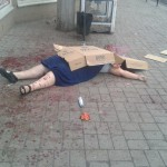 Woman civilian, killed by shelling in Sloviansk